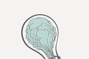 Illustration of creative ideas