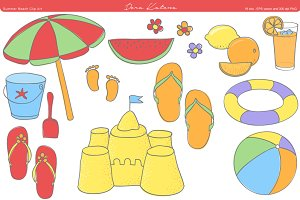 Summer Beach Clip Art