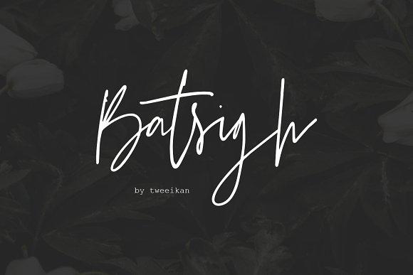 Batsigh Font