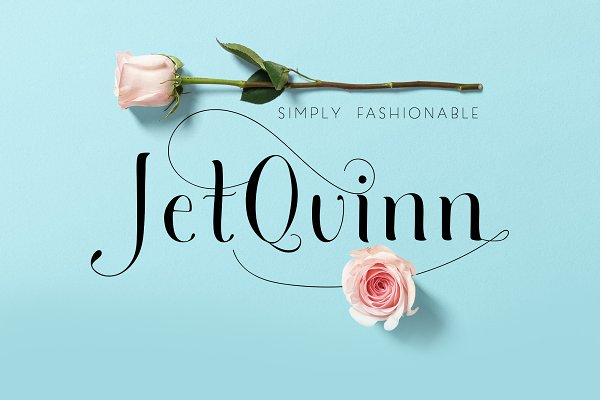 Jet Quinn Simply Fashionable Font