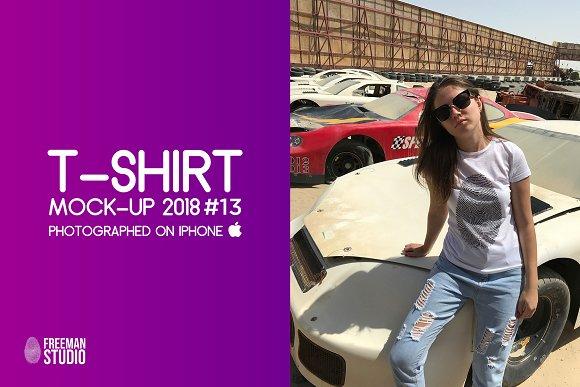 T-Shirt Mock-Up 2018 #15