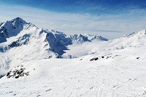 Mountains. Elbrus.