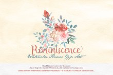 Watercolor Clipart - Reminiscence
