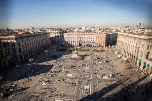 Piazza Duomo di Milano,Italy