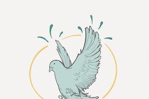 Drawing illustration of freedom