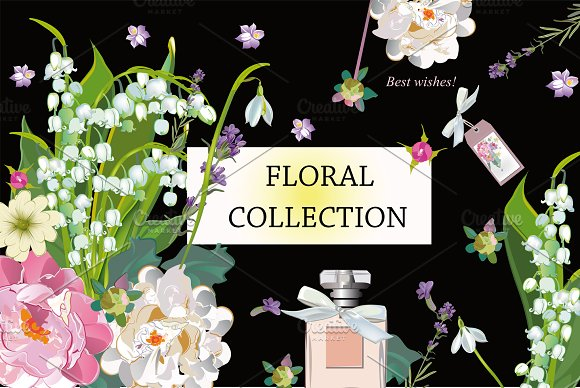 Vector Floral Clipart