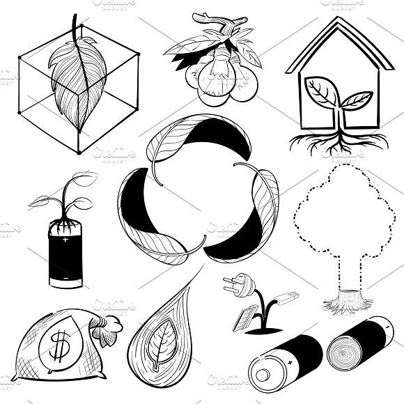 Illustration Set Of Environment