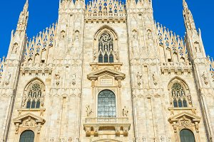 Milan Cathedral (Duomo Milano). Ital
