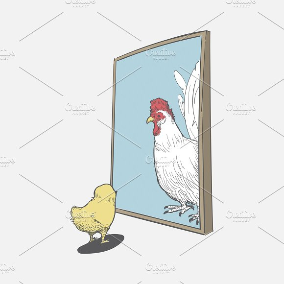 Chicken Want To Become A Hen