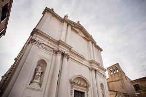 Church of San Toma in Venice. Italy.
