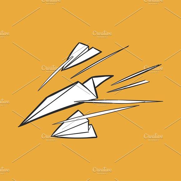 Illustration Of Paper Planes