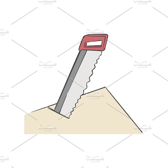 Cut Corners Idiom Vector
