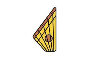 Gusli color icon