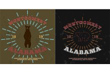 Montgomery Alabama. t-shirt graphic