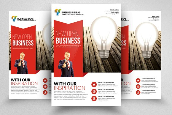 Business Executive Coach Flyer