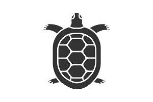 Tortoise glyph icon