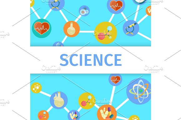 Science Inventions In Chemistry And Physics Poster