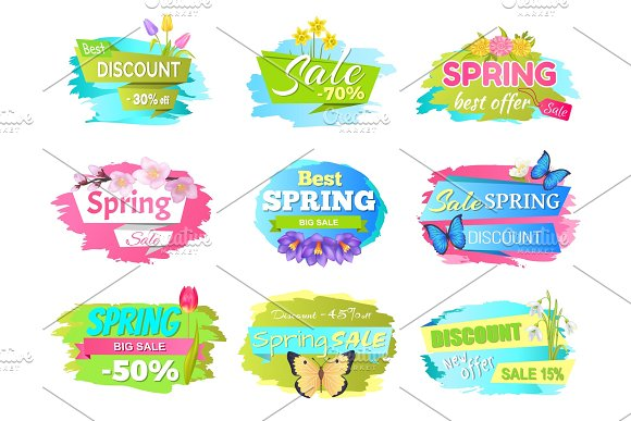 Best Spring Sale Label Crocus Flowers Discounts