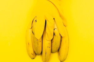 bananas. yellow color