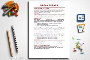 Resume Template Pages & Word