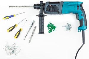 Perforator and screwdriver