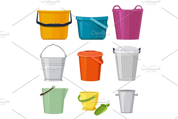 Different Buckets Vector Set Isolate