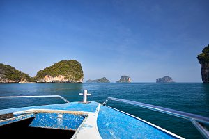 Boat cruise in Thailand