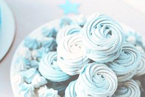 blue marshmallow