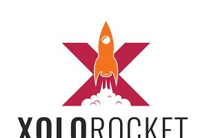 Xolo Rocket Logo Template