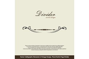 Vector Card Invitation Elements