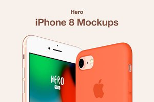 HERO iPhone 8 Mockups