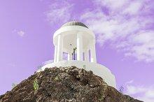 white colored dome