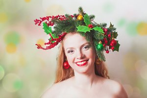 Stylish Christmas headdress