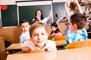Active pupils want to show themselves