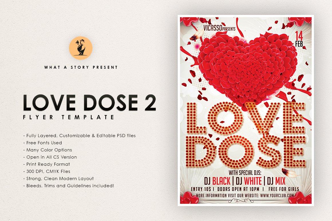 Love Dose 2 ~ Flyer Templates ~ Creative Market