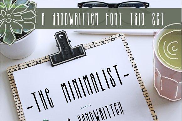 THE MINIMALIST Skinny Tall Font