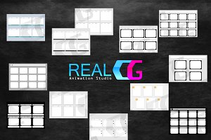 storyboard template mix 12