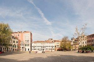 Campo San Polo in Venice
