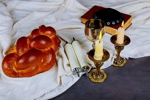 Traditional Jewish Shabbat Shalom