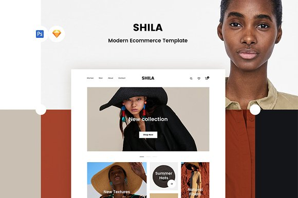 Shila Ecommerce Template