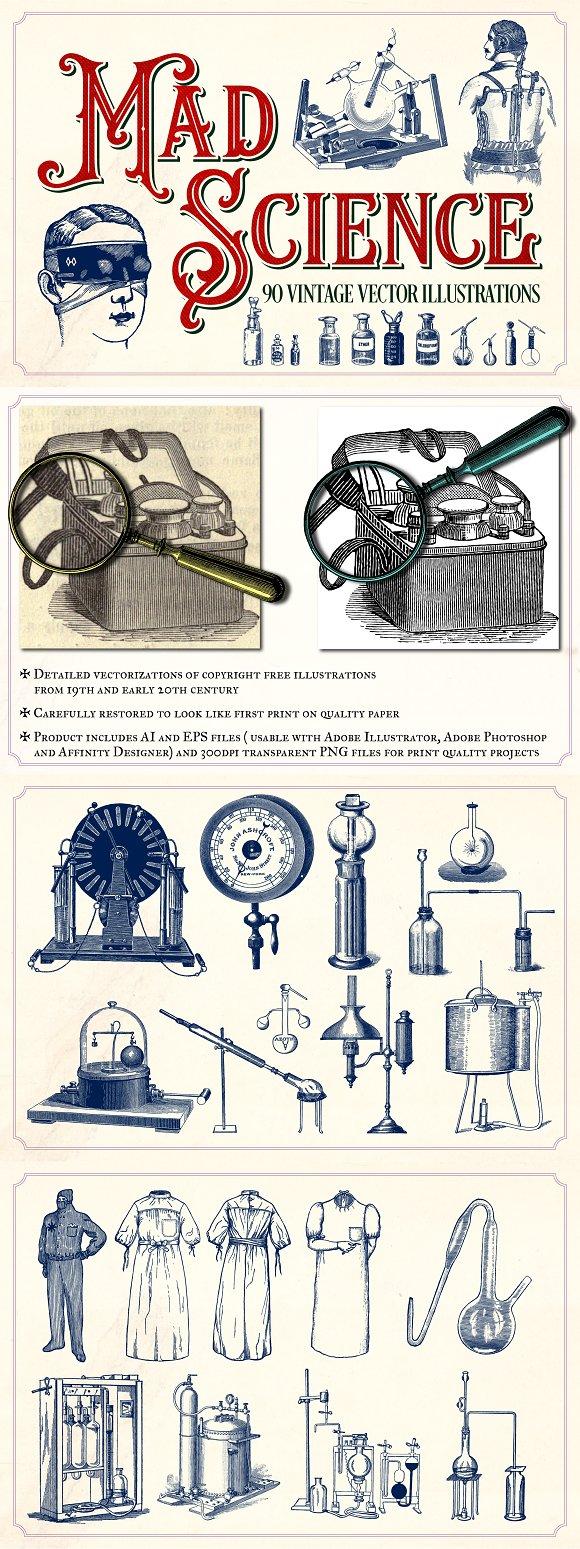 Vintage Science Illustrations