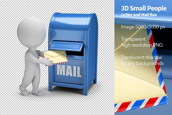 Letter And Mail Box