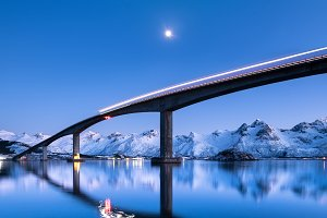 Natural landscape in the Norway
