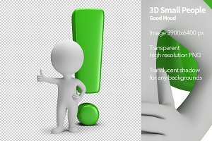 3D Small People - Good Mood