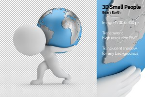 3D Small People - Bears Earth