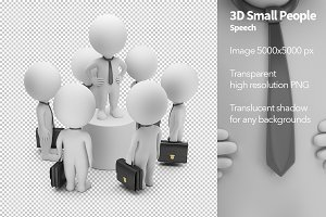 3D Small People - Speech