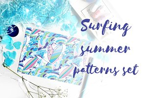 Surfing summer patterns set