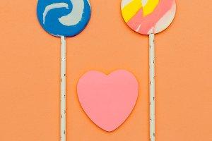Candy set. Souffle. Sweet Fashion ar