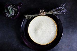 Perfect vanilla New York cheesecake