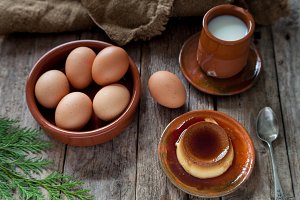Egg flan